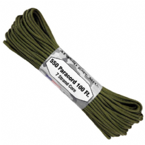 US GSA Compliant 550 Paracord - Olive Green